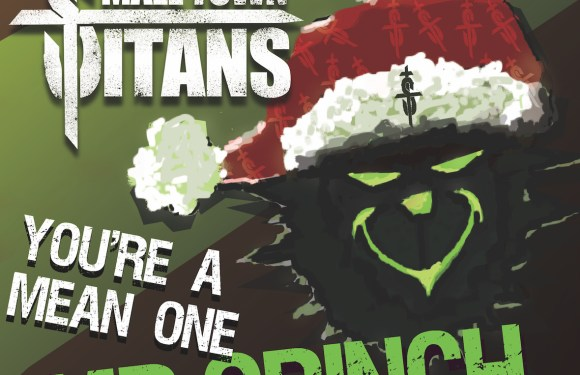 "Small Town Titans Give ""You're a Mean One Mr. Grinch"" a Dark, Blues-Soaked Update!"
