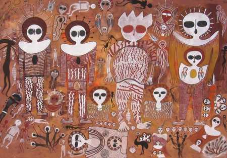 Resultado de imagen de wandjinas pinturas