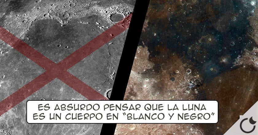 Los VERDADEROS COLORES DE LA LUNA ¿Por qué nos vuelven a MENTIR ...