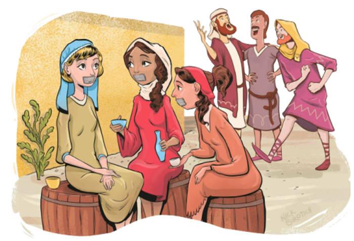 biblia-ilustrada-mujer-callada