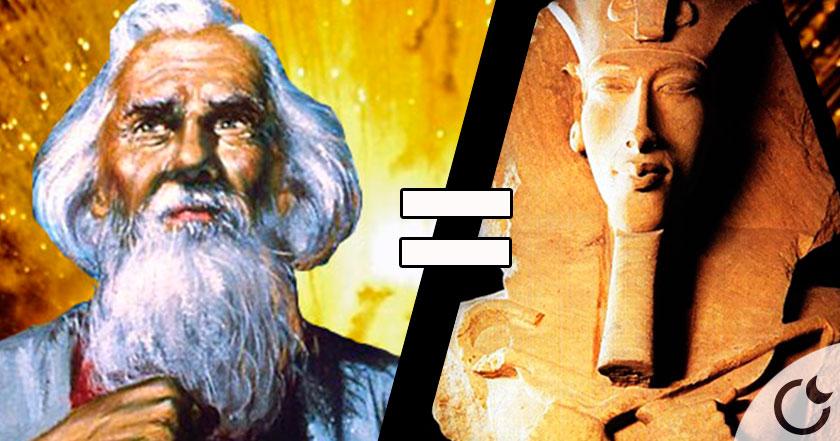 Resultado de imagen de Lo Que Dicen Que Oculta la Biblia: Abraham Fue en Realidad, Akenaton