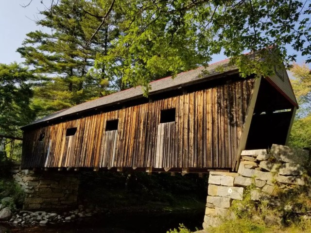 Maine Lovejoy Covered Bridge