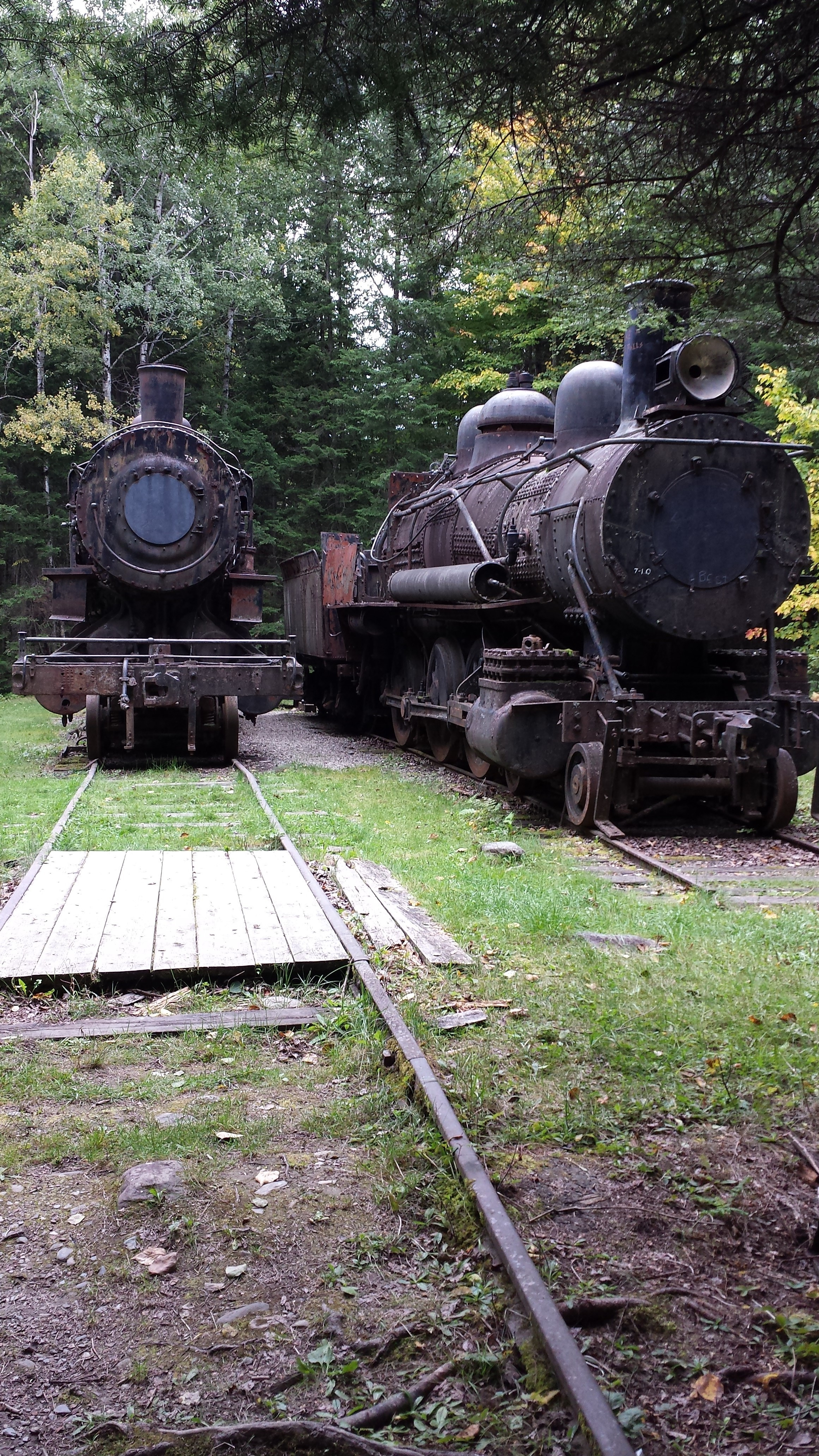 Find the Abandoned Locomotives in the North Maine Woods