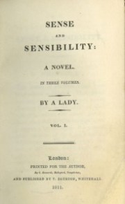 Sense And Sensibility TitlePage