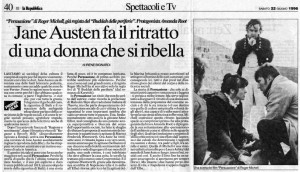 La Repbblica - 22 giugno 1996