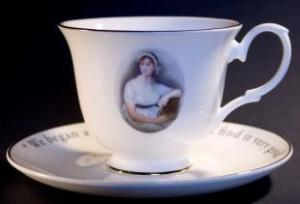 Jane Austen Cup and Saucer