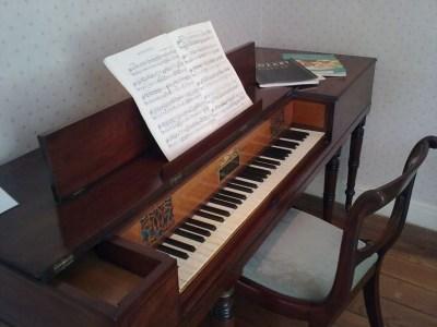 Chawton, Jane Austen's House Museum, pianoforte Clementi 1810 ca.