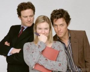 Bridget Jones, Mark Darcy e Daniel Cleaver
