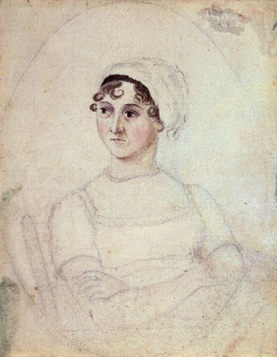 Jane Austen portrait 1810