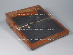 scrittoio portatile di Jane Austen, British Library, Londra