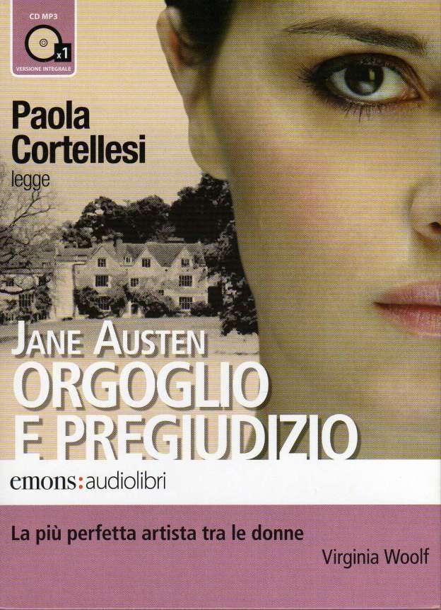 Orgoglio e Pregiudizio letto da Paola Cortellesi, Emons Audiolibri