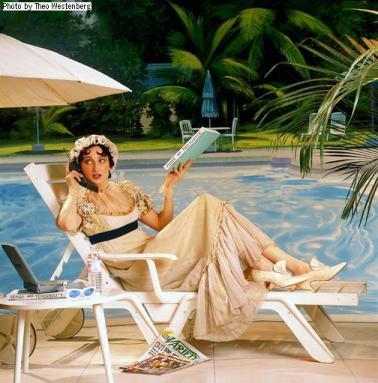 Jane Austen by Theo Westenberg
