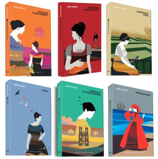 Collana Jane Austen - La Repubblica, 2017