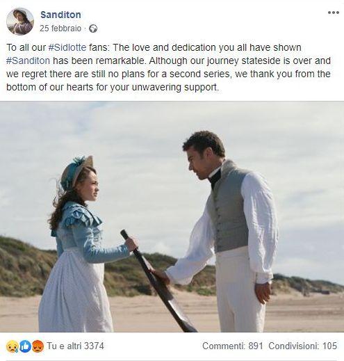 Sanditon, ITV, 2019
