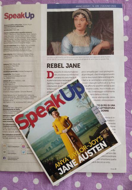 SpeakUp giugno 2021, Jane Austen, Emma