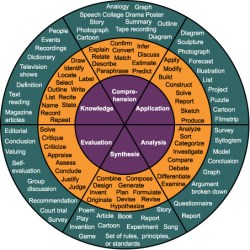 More on using Blooms Taxonomy