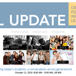 Educating today's students: a conversation across generations