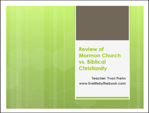 Final Mormon Review full-size notes