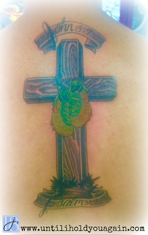 grief, sibling grief, memorial tattoo