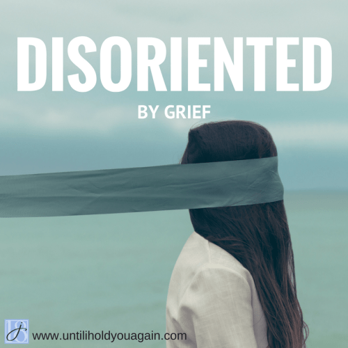 disoriented by grief, in the mind of a bereaved parent