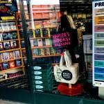 Kepler's Books & Magazines, Menlo Park, store window