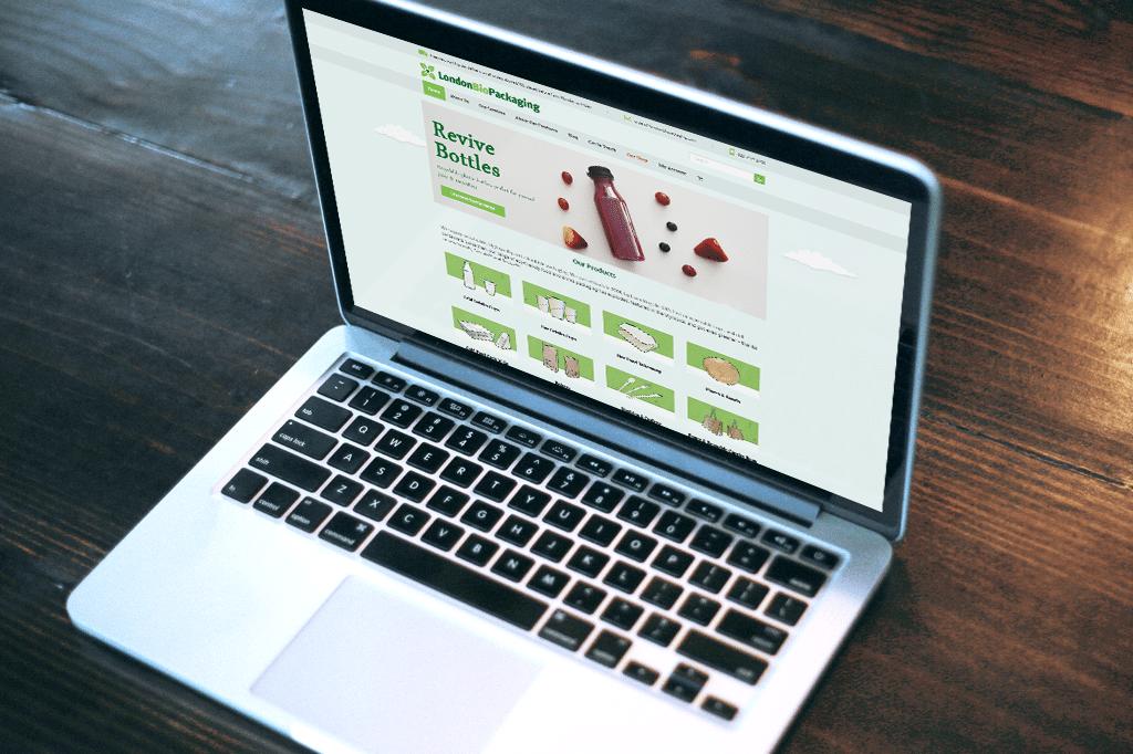 London Bio Packaging Responsive Website