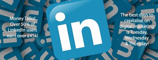 Cheshire Web Design: LinkedIn 2018 Statistics