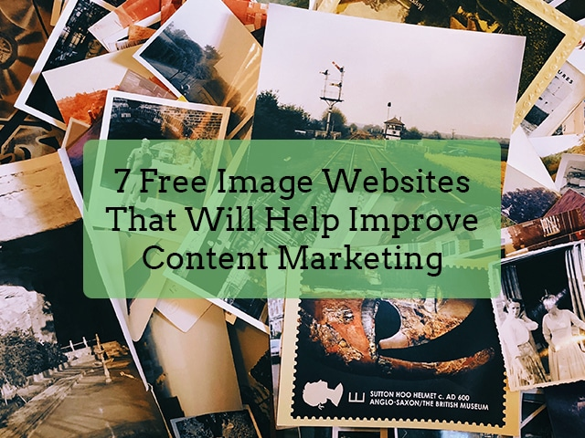 7 Free Image Websites Banner
