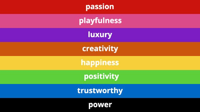 Colour psychology meaning