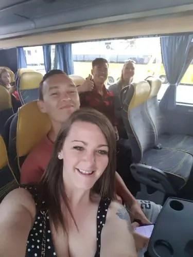 Bus to Vienna from Bratislava - Austria