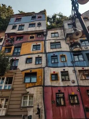 Hudertwasser house - Vienna, Austria