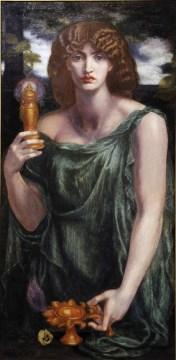Mnemosyne by Dante Gabriel Rossetti (1881)