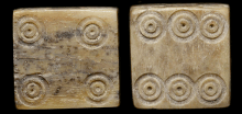 ancient roman dice probability 4 then 6
