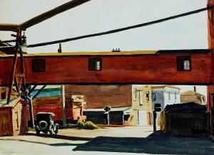 Box Factory by Edward Hopper