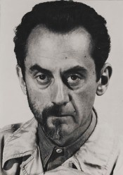 Man Ray's Self-Portrait with Half a Beard
