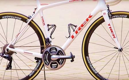 Contador's Trek Emonda - 640g Frame & Old-Fashioned Braking
