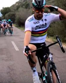 Happy new year 2018 by Peter Sagan