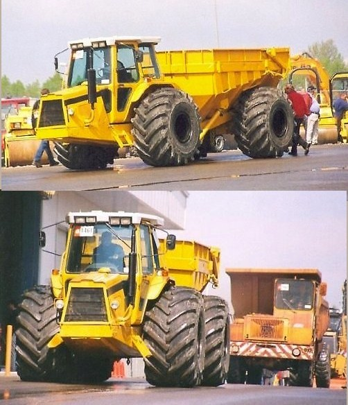 4x4 WHEELDED ARTICULATED VEHICLES, HEAVY