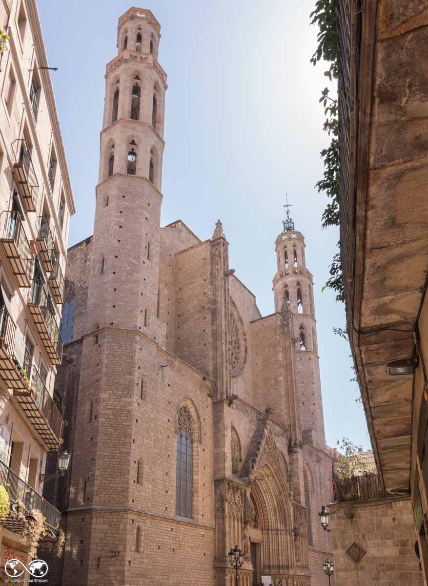 Barcellona: Iglesia de Santa Maria del Mar