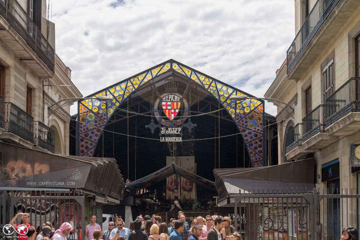 Barcellona: Mercato de La Boqueria