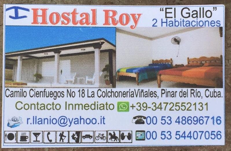 Vinales: Contatti Casa El Gallo