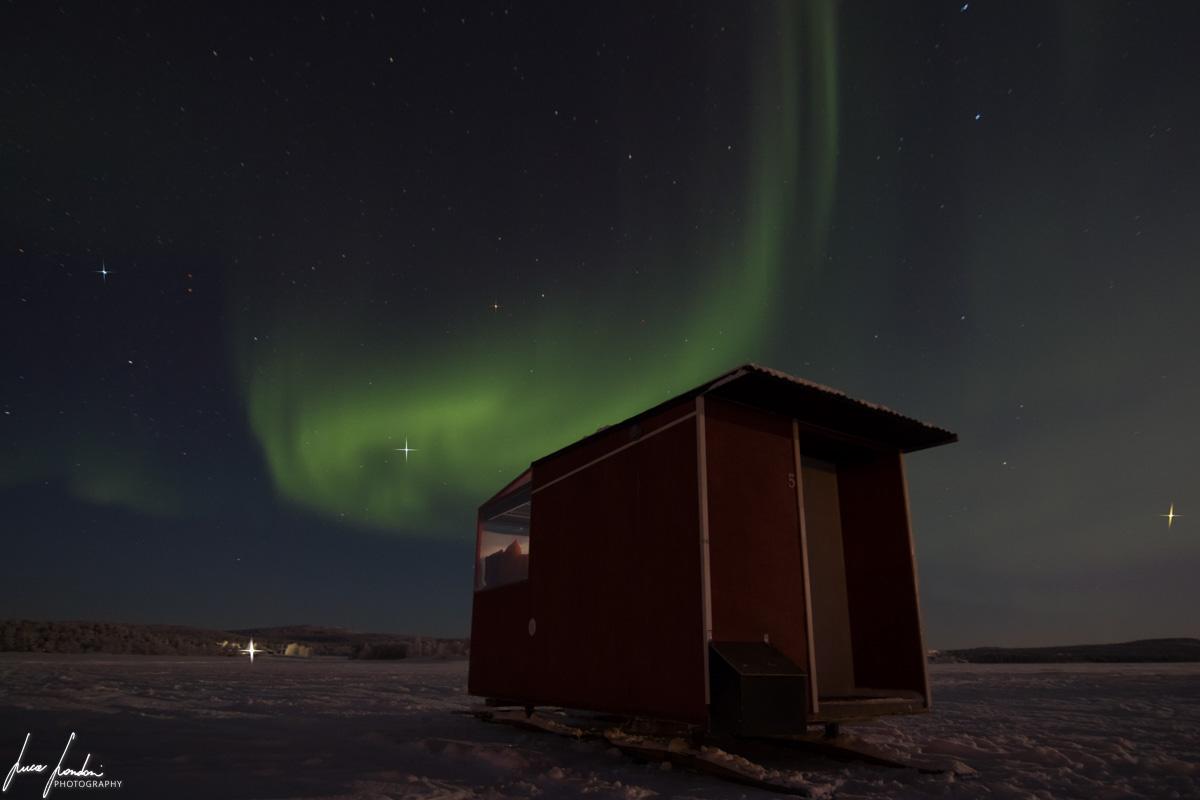 Dormire in Lapponia: Lake Inari Mobile Cabin