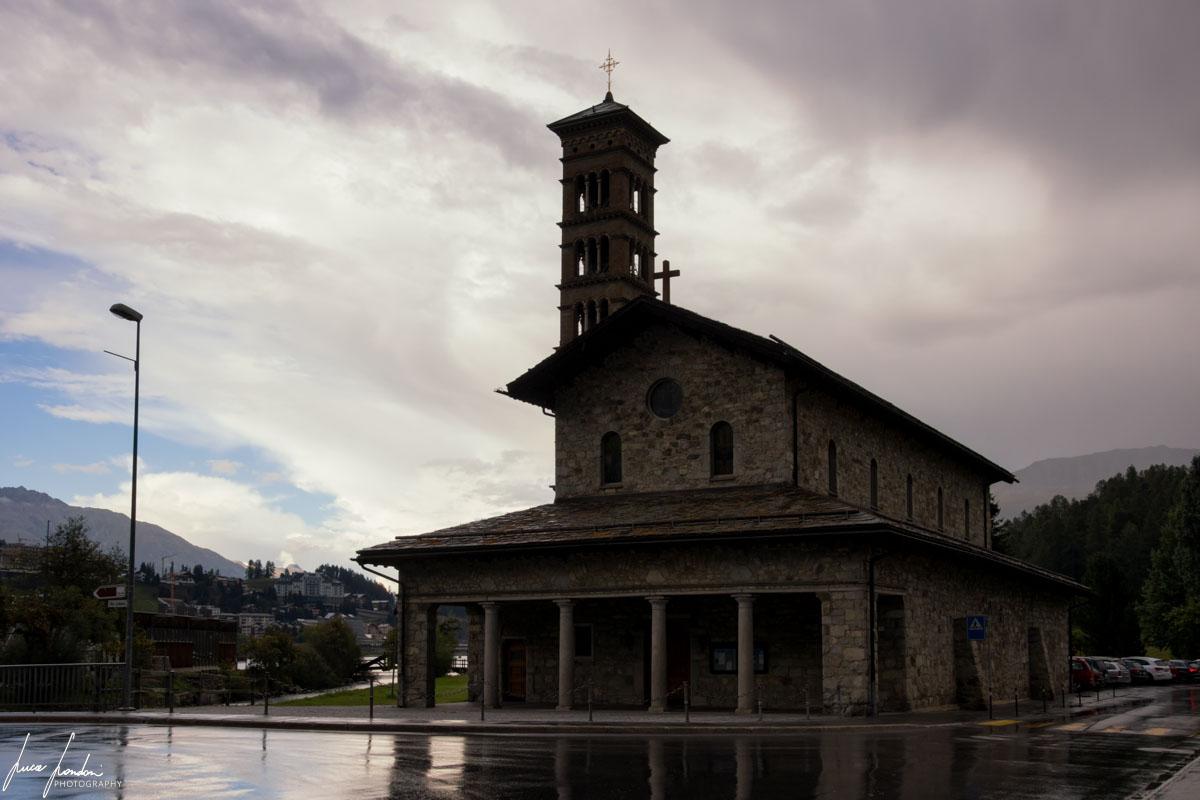 Trenino del Bernina: Chiesa di St. Moritz