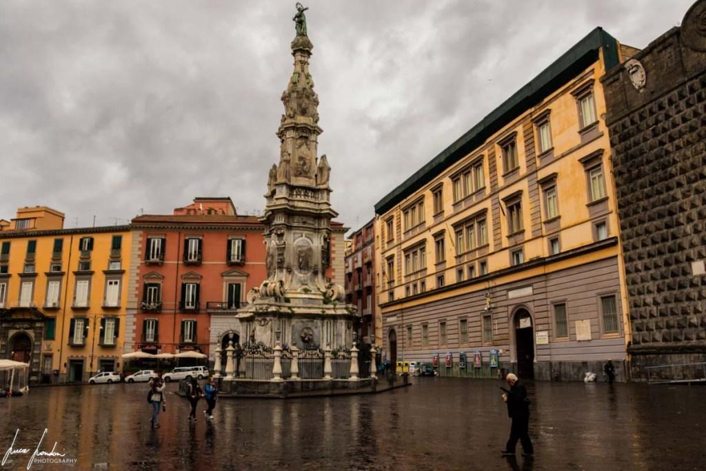 Napoli: Guglia dell'Immacolata