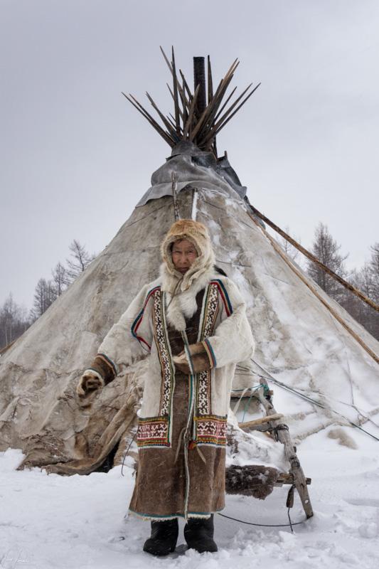 Nenets della Siberia: Matriona e il suo chum