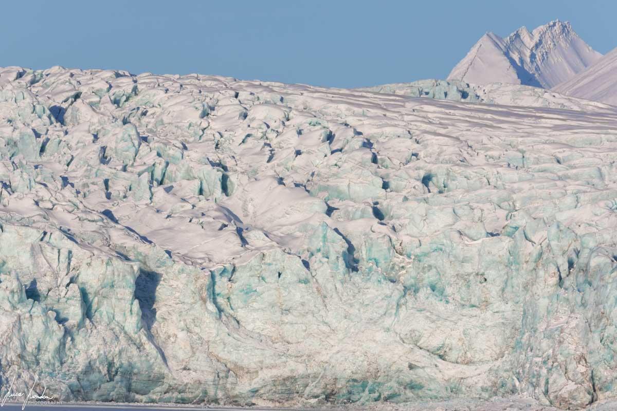 Barentsburg: Esmark Glacier
