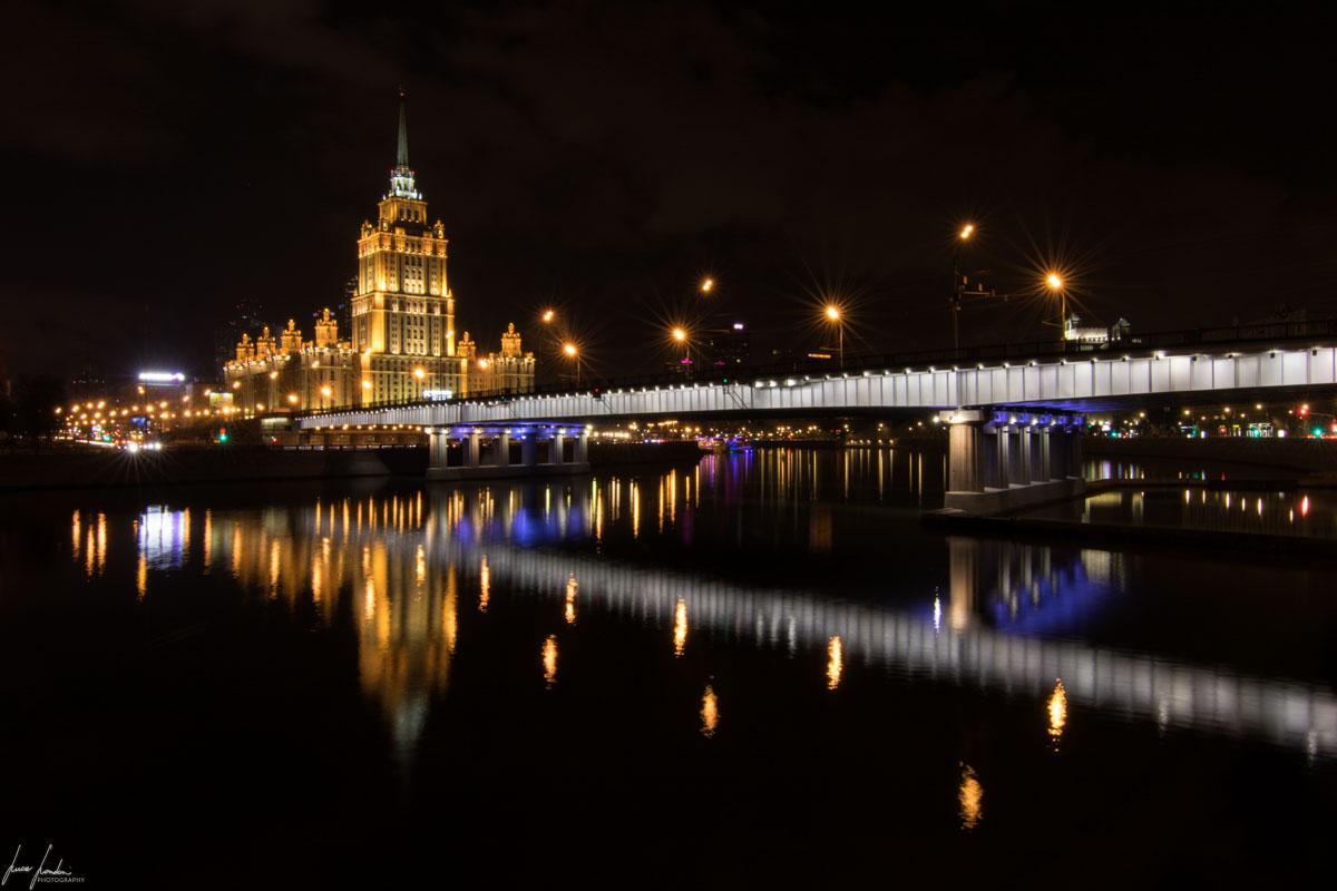 Mosca: passeggiata sul lungofiume fino al Radisson Blu Royal Moscow