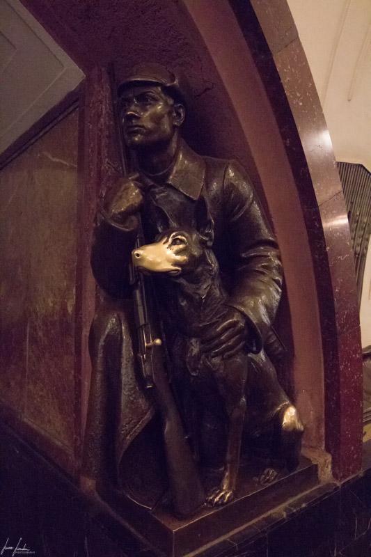 Metro di Mosca: Plochad Revolutsky