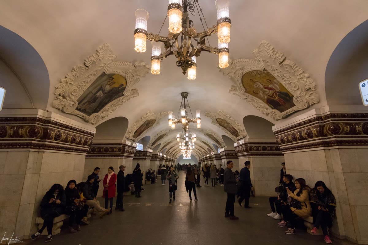 Metro di Mosca: Kievskaya