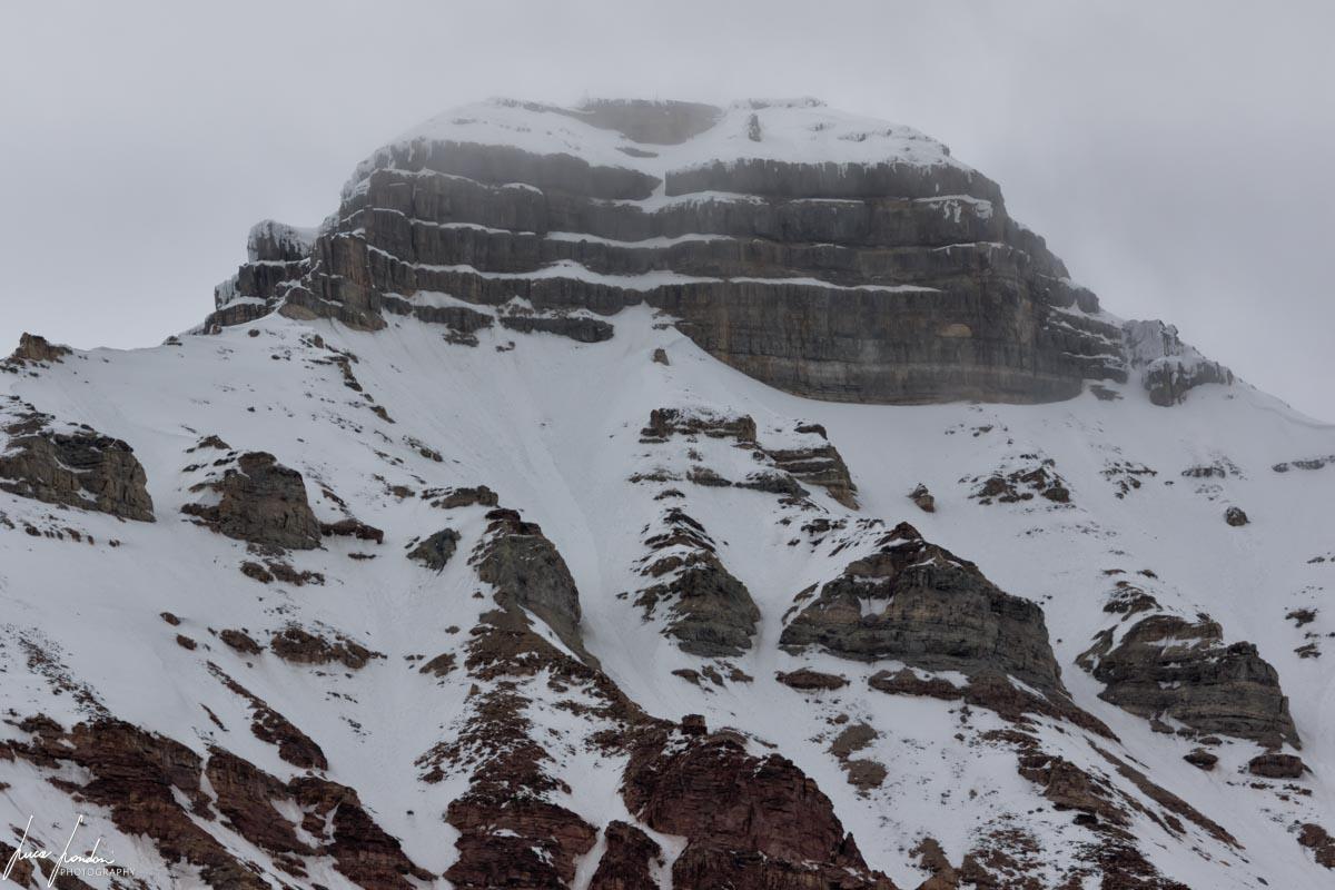 La montagna che ha dato il nome a Pyramiden
